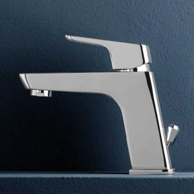 Miscelatore monocomando per lavabo serie Blow con scarico 1''1/4