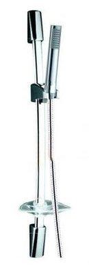 METAFORM AQUALINE  Doccia saliscendi Pulsar  con  portasapone doccetta  1 Getto anticalcare