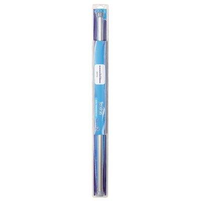 Asta dritta bastone per tenda cromo 75/125 cm  Feridras 017006