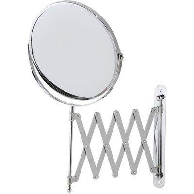 Specchio Estensibile da Muro Acciaio cm 15 Cromo ART.151018-B
