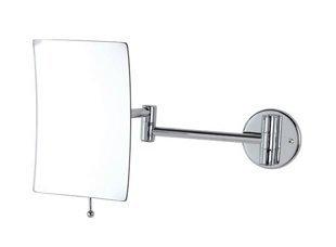 Specchio da muro 151026-b con braccio a snodato Dimensioni: 14 x 19h cm