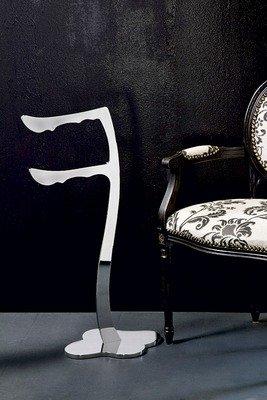 House Design Traccia Piantana porta salviette Finitura Ottone Cromato