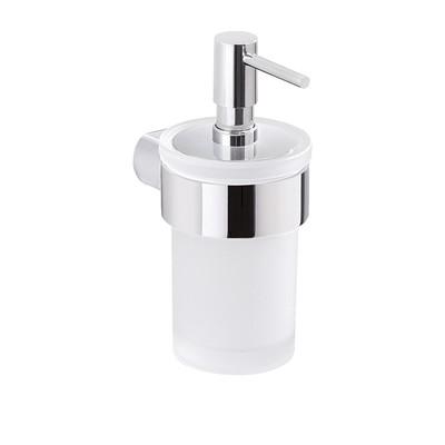 GEDY Pirenei Dispenser Vetro/Resine Termoplastiche Cromato Lucido