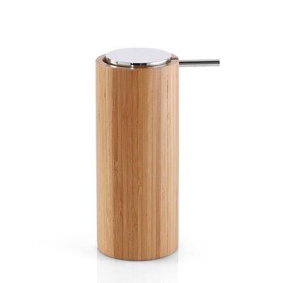 GEDY serie ALTEA Dosasapone con Erogatore in Plastica e Corpo in Bambù