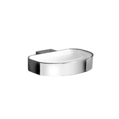 GEDY Serie KENT Porta Sapone Ottone Cromall® Vetro