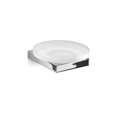 GEDY serie LANZAROTE Porta Sapone in Cromall®/Vetro