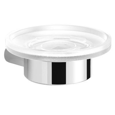 GEDY serie Azzorre Porta Sapone in Alluminio e Vetro
