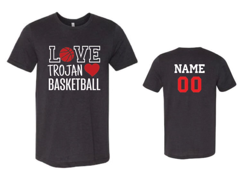 Love Trojan Basketball