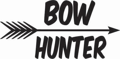 Bow Hunter Sticker