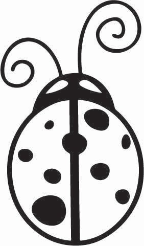 Lady Bug Sticker
