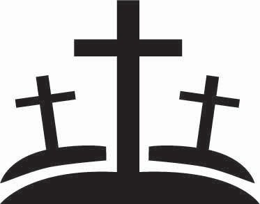 Crosses Sticker