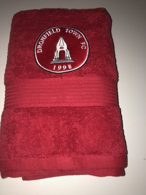 Bath Towel Red