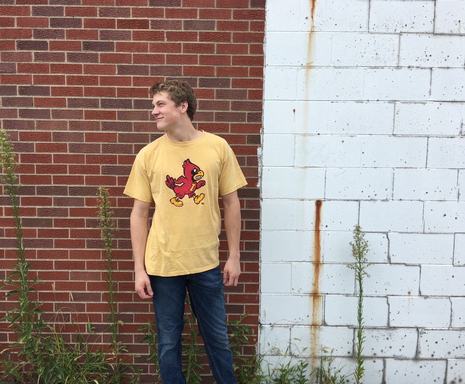 Mustard Marching Cy Tee