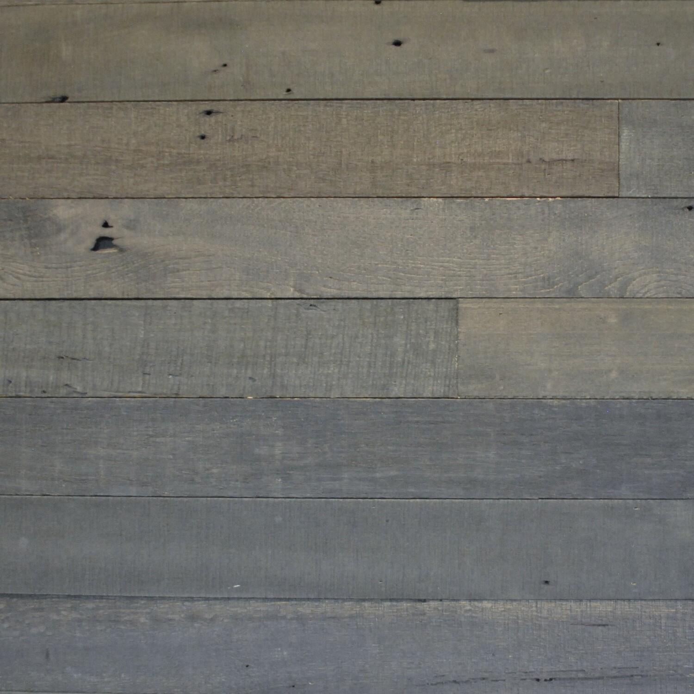 Reclaimed Midnight Black Barn Wood Planks | 20 Sq Ft - Georgia Reclaimed