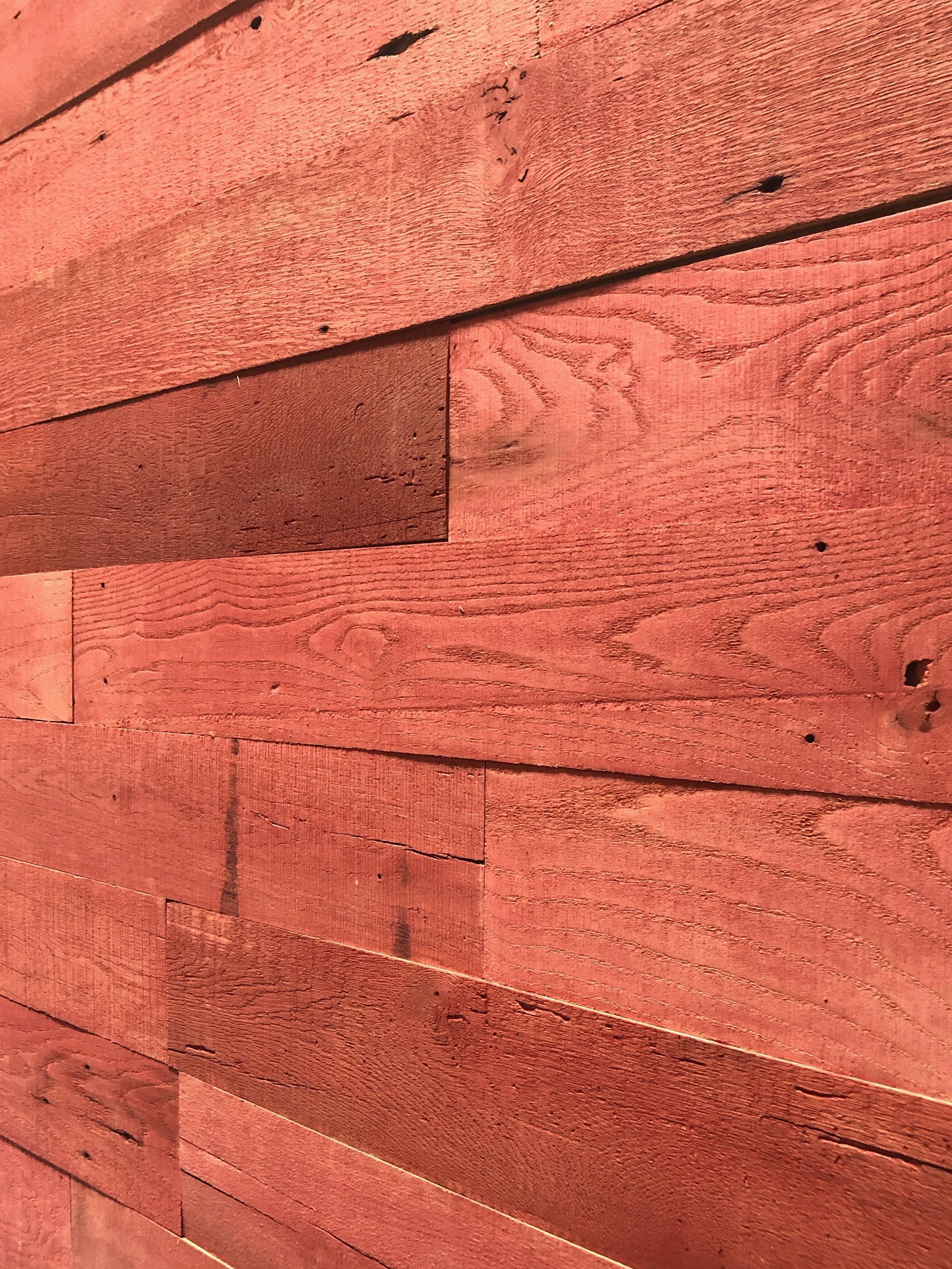 Reclaimed Barn Red- 20 Square Feet