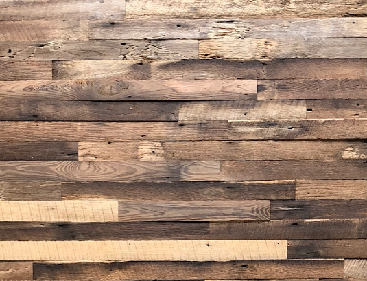 Reclaimed Weathered Brown Blend- 20 Square Feet