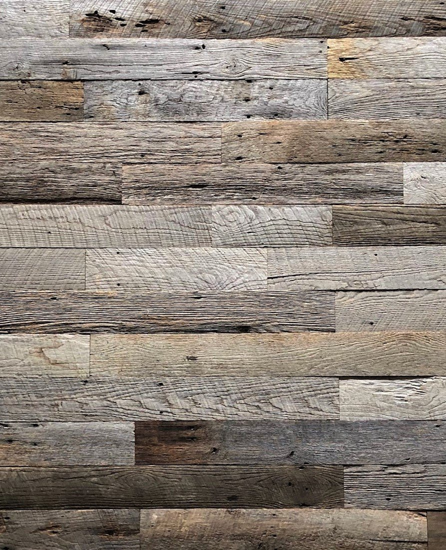 Reclaimed Weathered Gray Blend- 20 Square Feet 00019