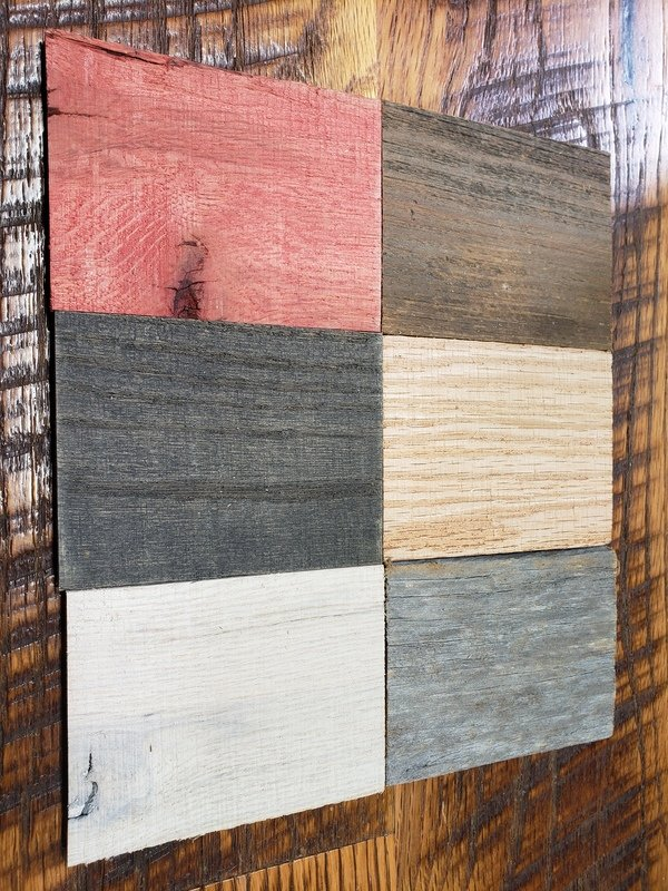 Barn Wood Wall Plank Sample Pack