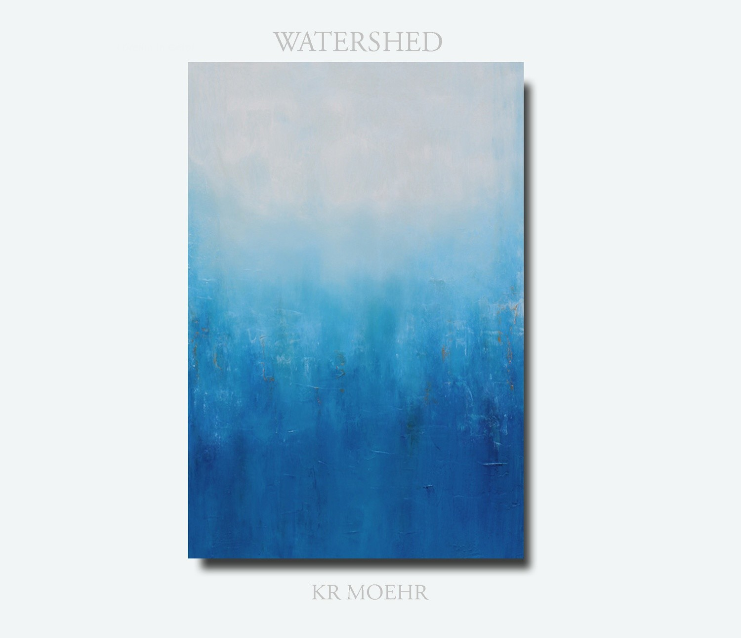 Blue Abstract Art Painting - Large Wall Art