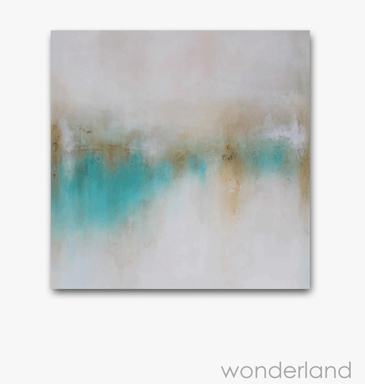 Large Abstract Landscape Painting - Desert Inspired Art