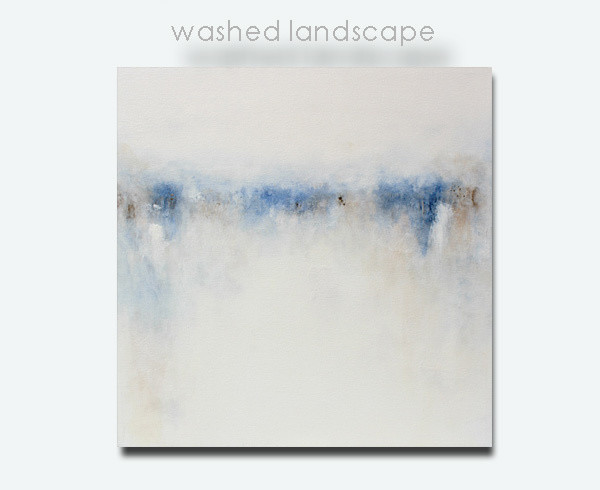 Large Abstract Landscape Painting - Affordable Original Art