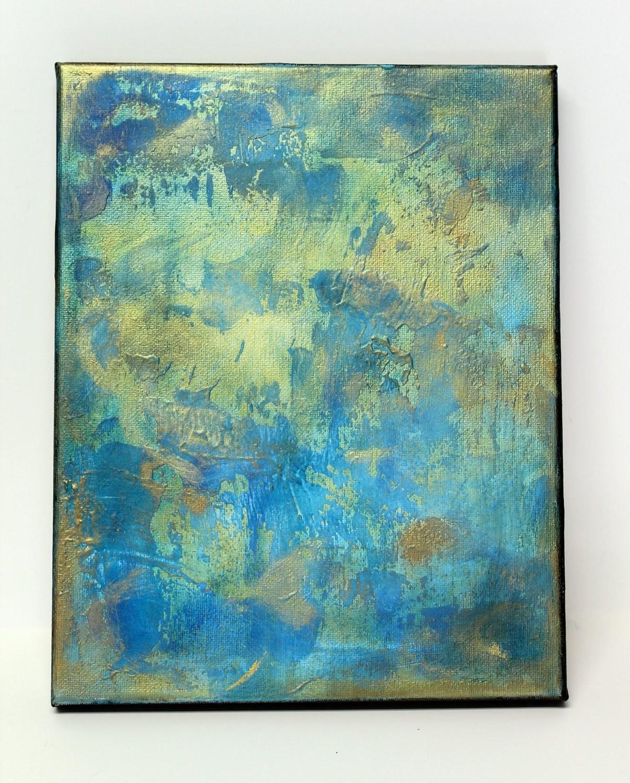 SEA Abstract Textured Original Art