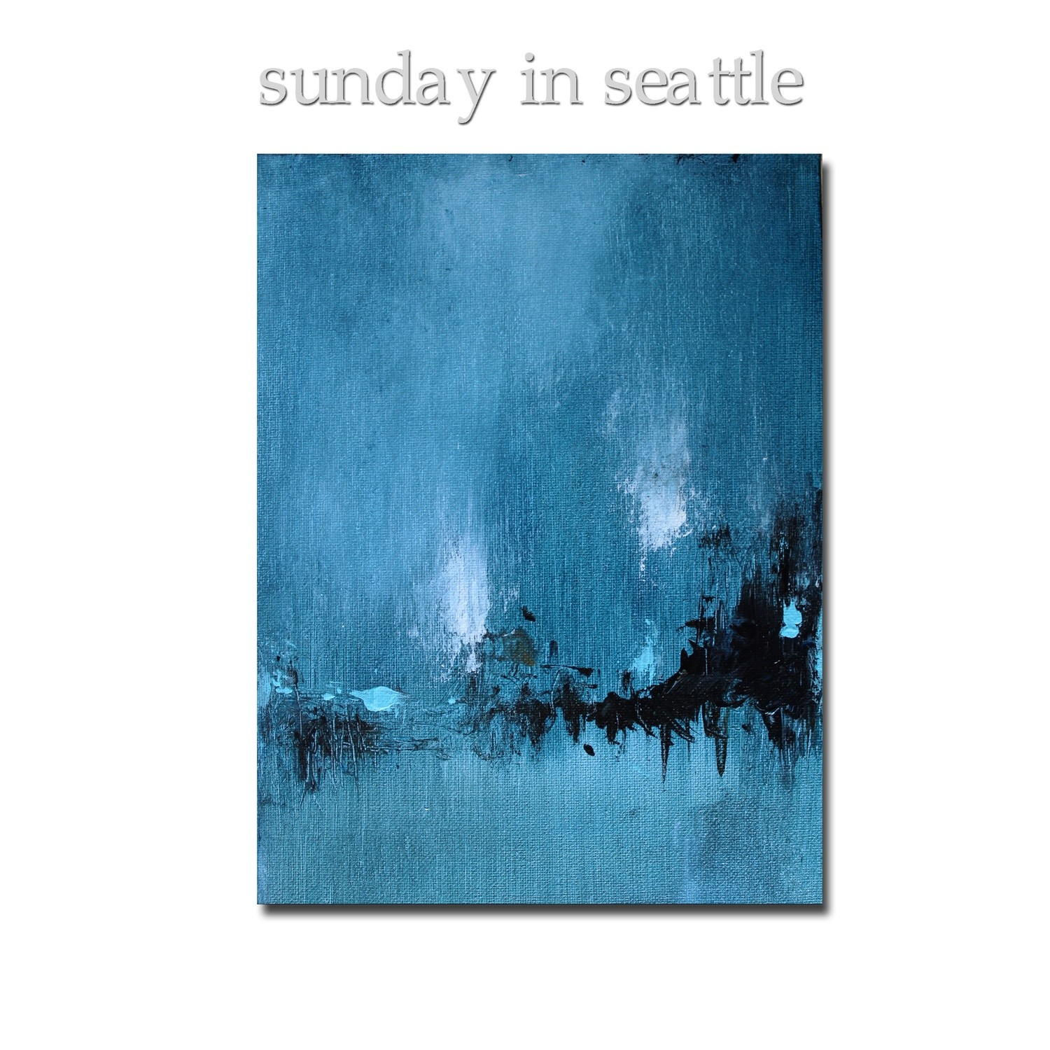 Sunday in Seattle Modern Minimalist