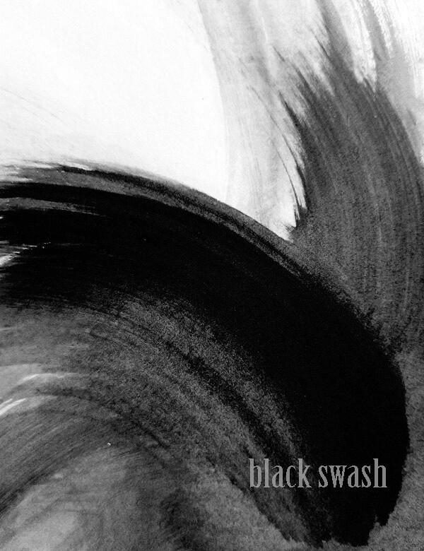 BLACK SWASH Print