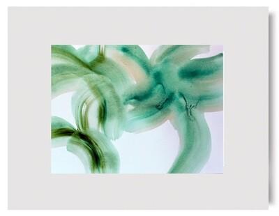 SPRING LEAP Botanical Print