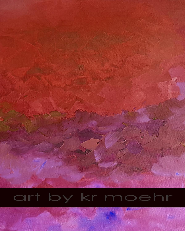 Scarlet Mermaid - FREE SEPTEMBER PRINT