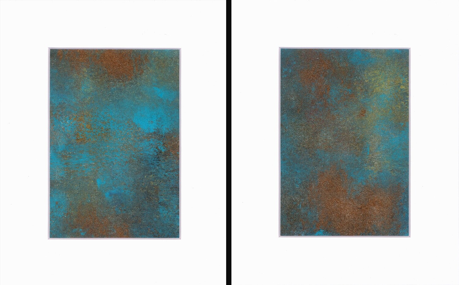 Desert Treasure Diptych