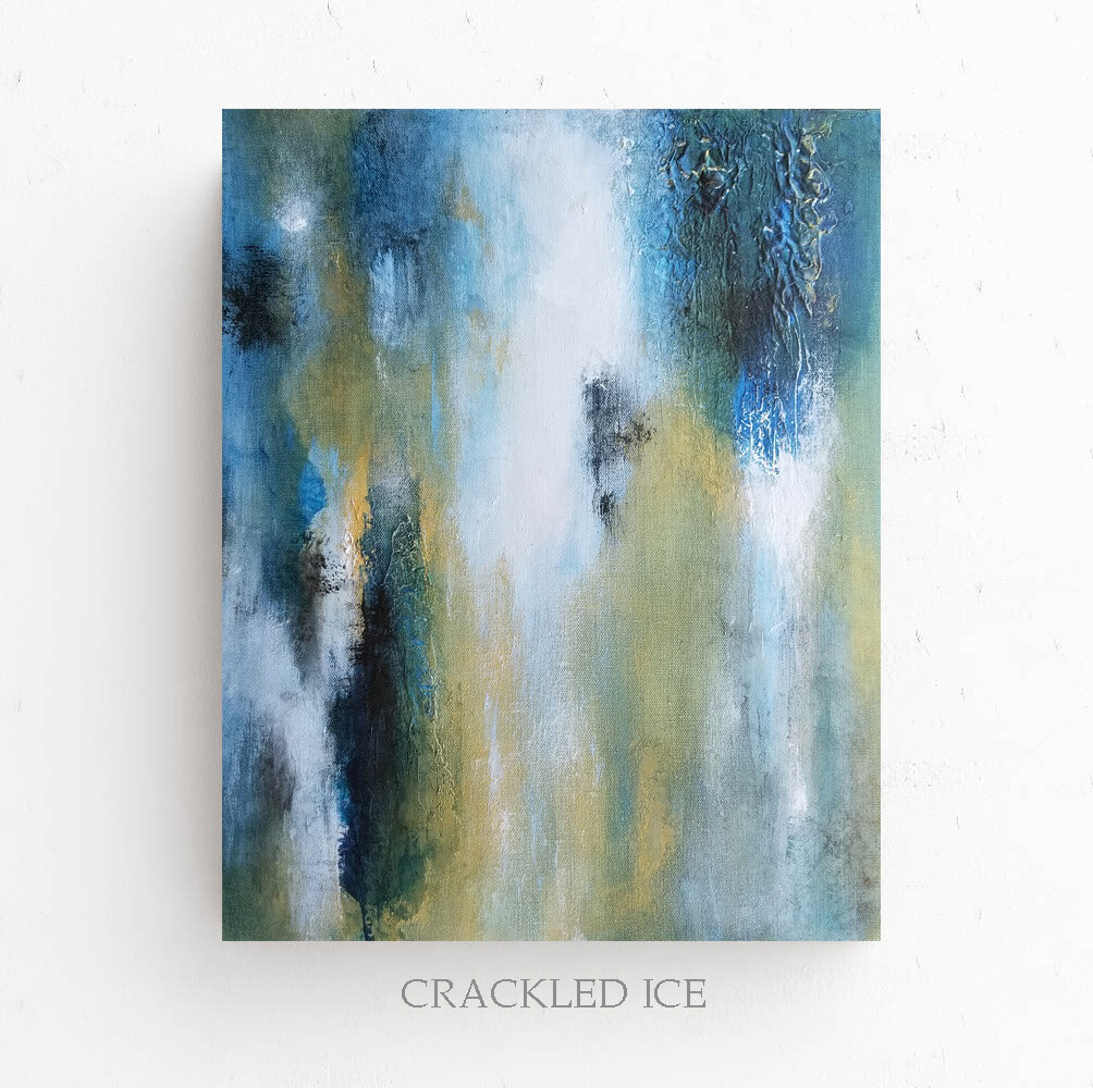 CRACKLED ICE
