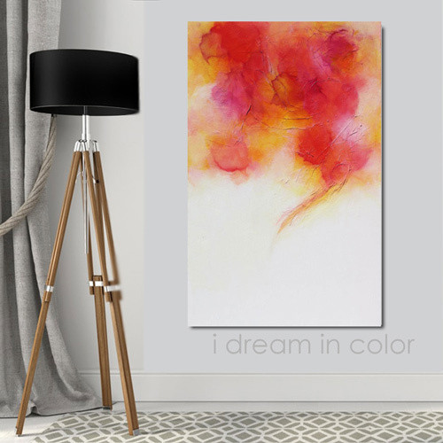 Bright Colorful Abstract Art Painting