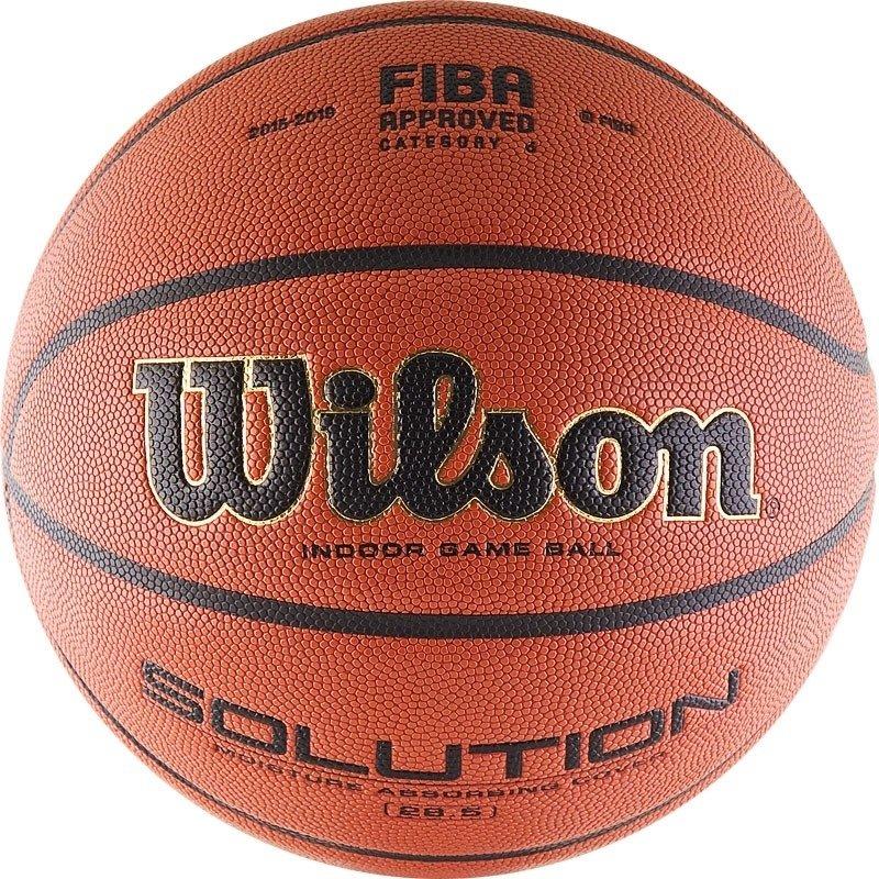 Мяч баскетбольный Wilson Solution
