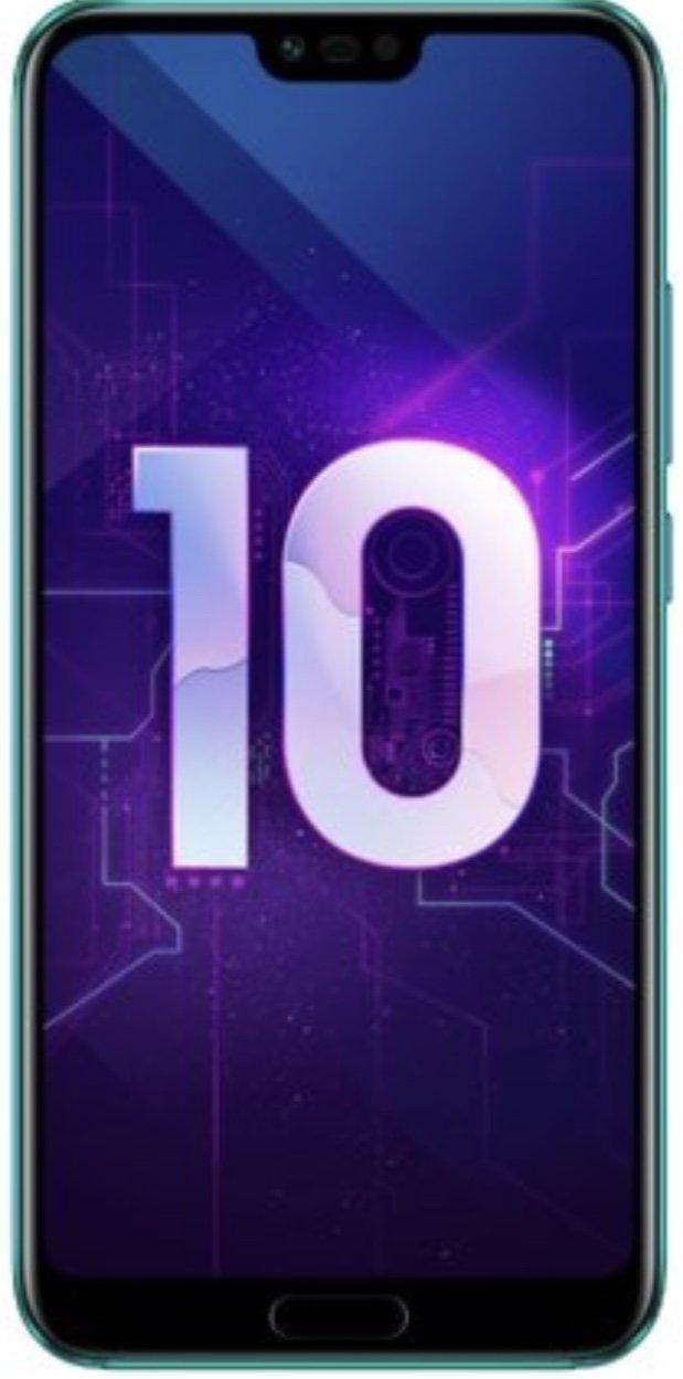 Смартфон Honor 10 4/128GB (черный)