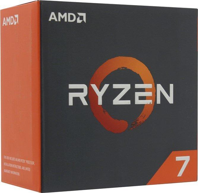 Процессор AMD Ryzen 7 1800X Summit Ridge (AM4, L3 16384Kb) BOX