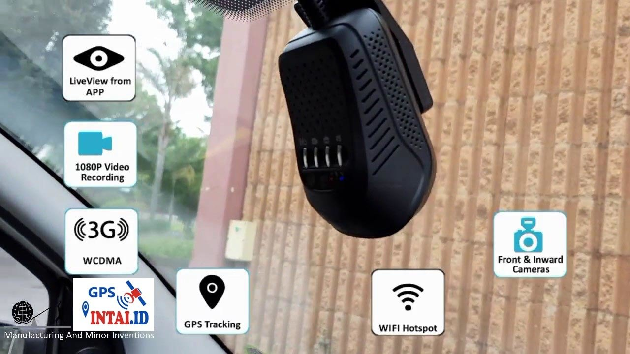 GPS Tracker + DVR JC100