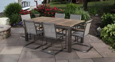 Bali Dining Table Set for 6