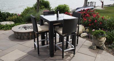 Ibiza Outdoor Bistro Set for 4