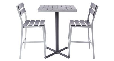 Milloy Outdoor 2-Top Bar Set