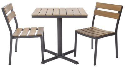 Asher Outdoor 2-Top Dining Set