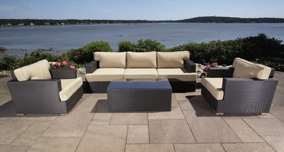 Salina Outdoor Sofa & Club Chair Group