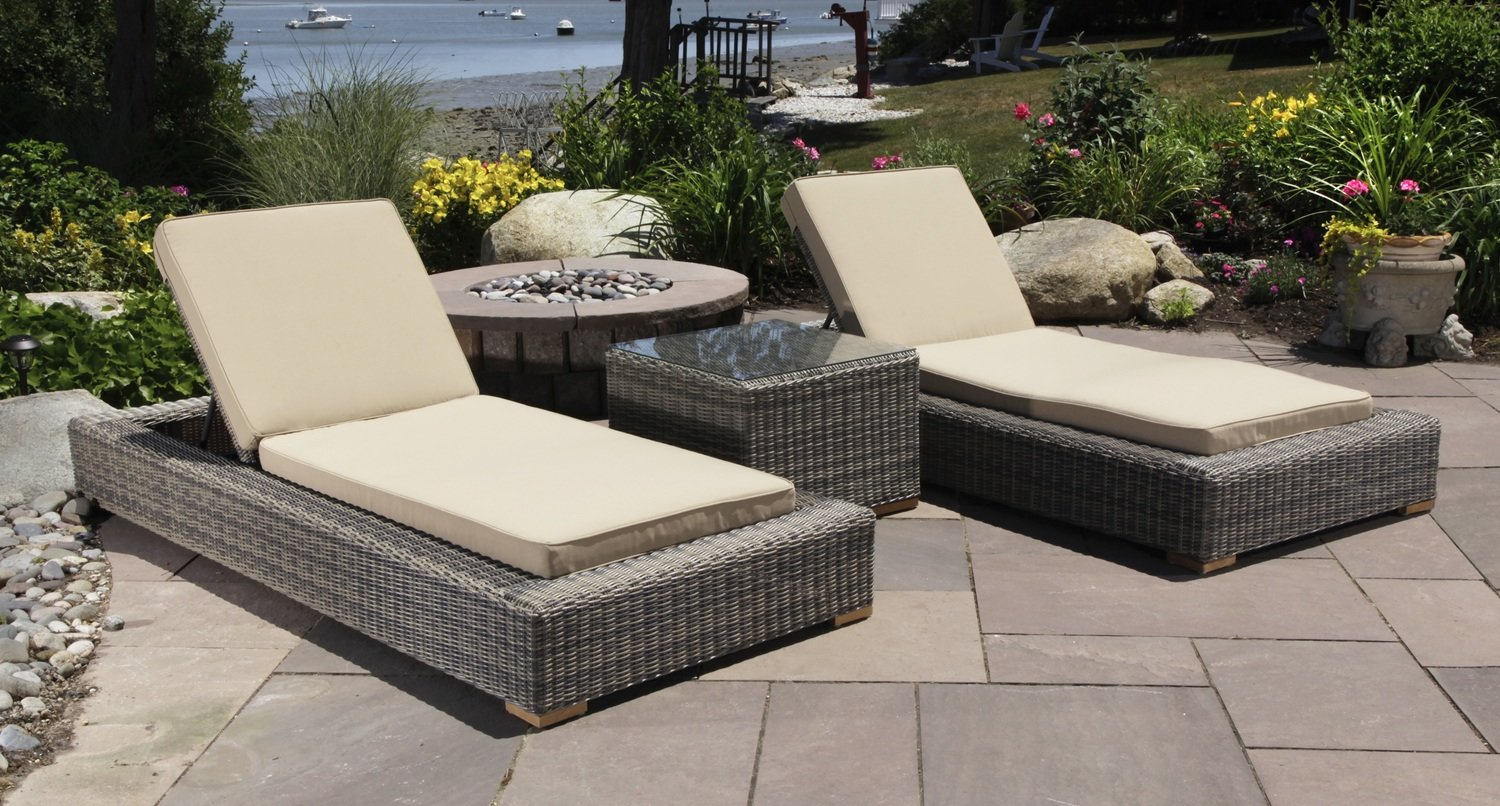 Corsica Outdoor Lounge Chair Set