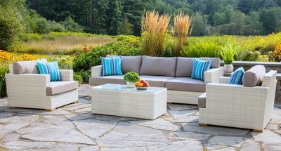 Mykonos Outdoor Sofa & Club Chair Group