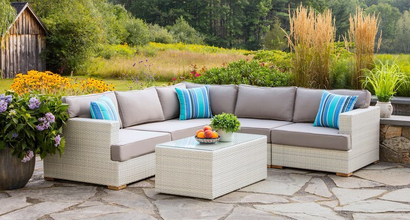Mykonos Sectional With Extender