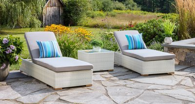 Mykonos Outdoor Lounge Chair Package