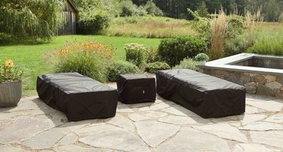 Water Resistant Outdoor Covers - Club Chair/Chaise Package