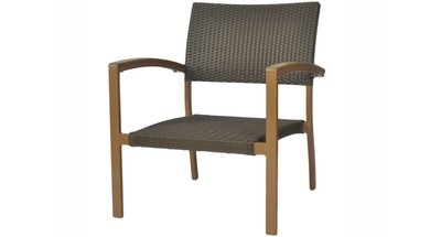 Emma Outdoor Wicker Lounge Chair