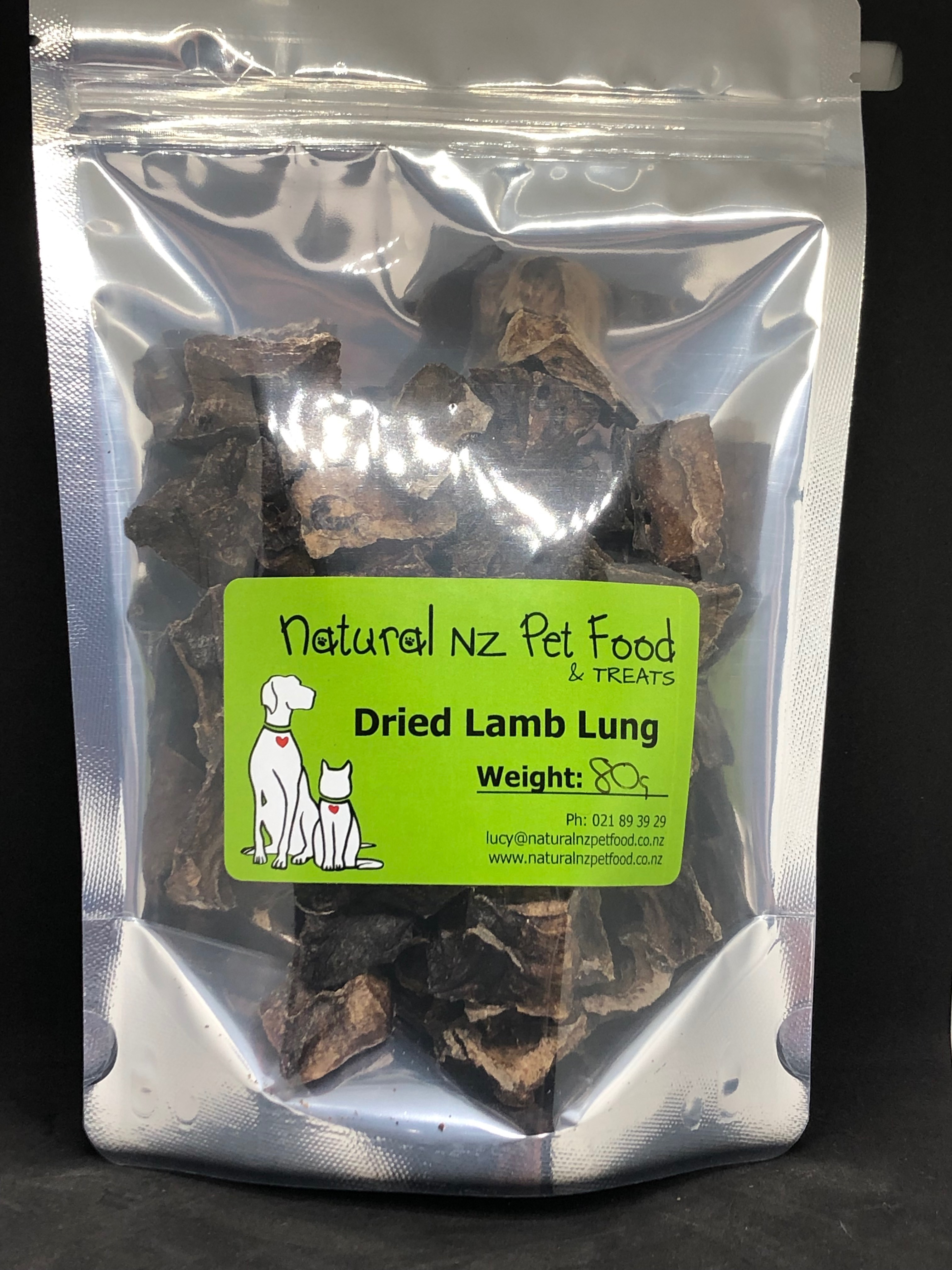 Dried Lamb Lung 80g dried-lamb-lung