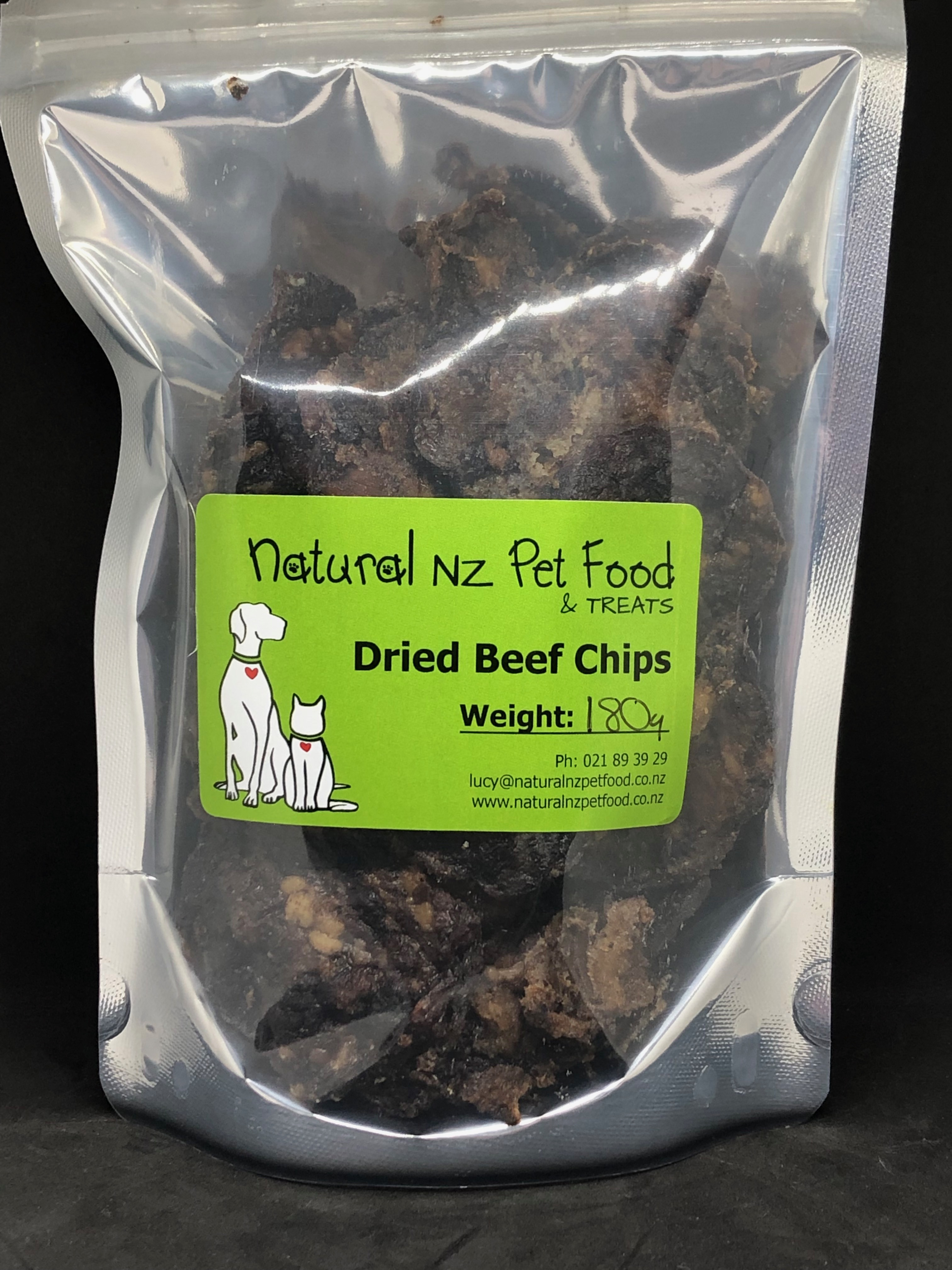 Dried Beef Chips Beef Chips 180g